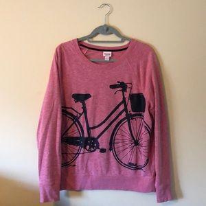 Mossimo Supply Co. Bicycle sweatshirt